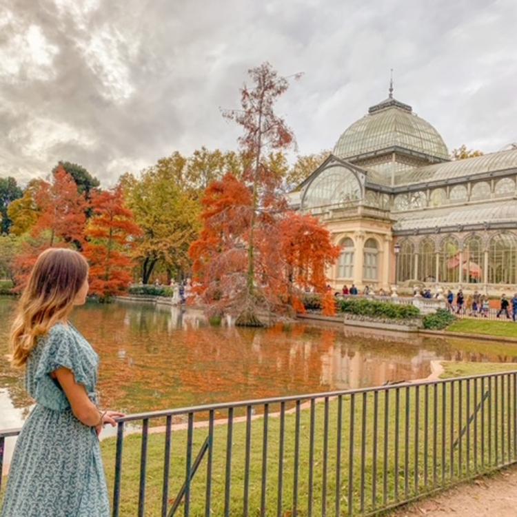 palacio de cristal lugares instagrameables madrid viajera cinefila