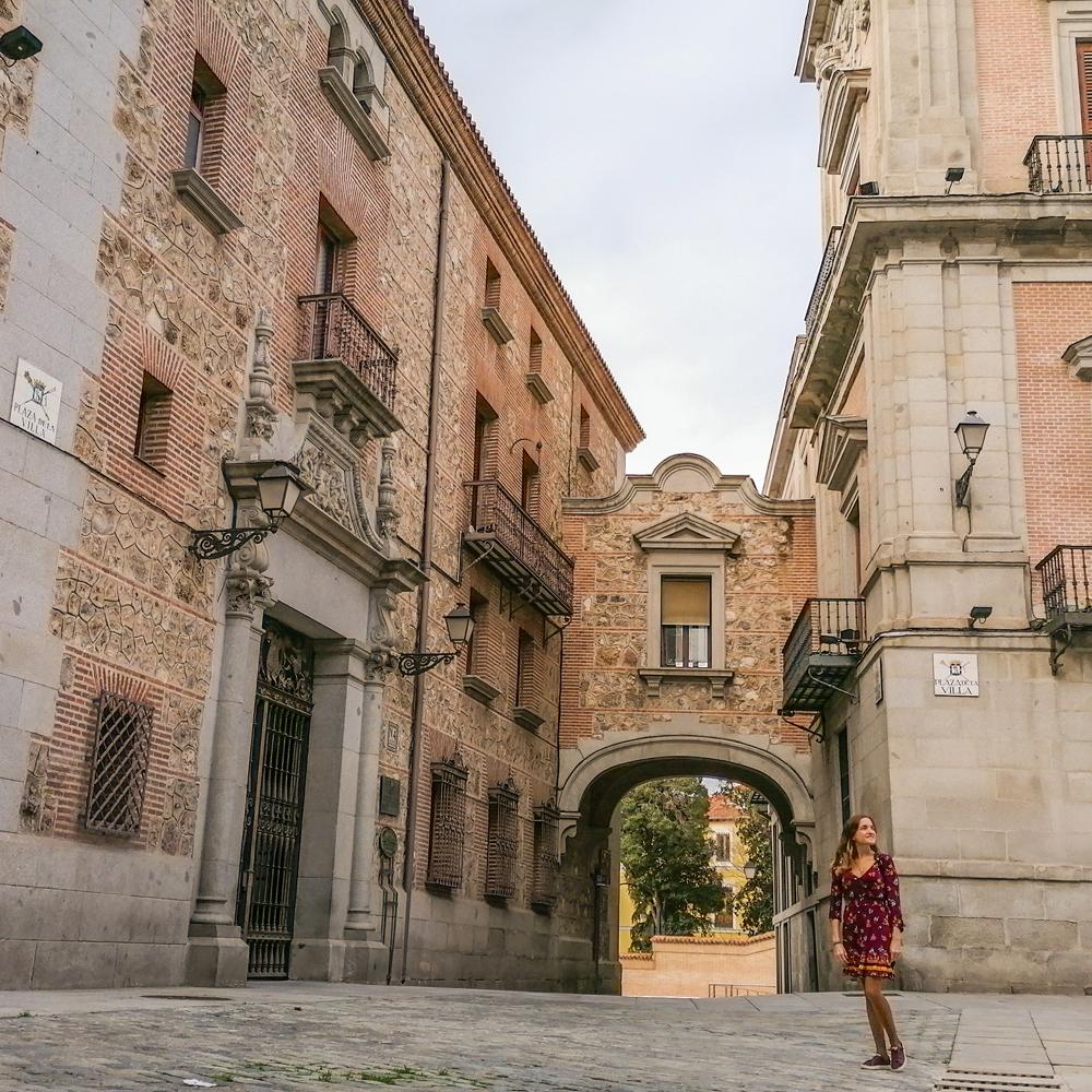 plaza de la villa lugares instagrameables madrid viajera cinefila