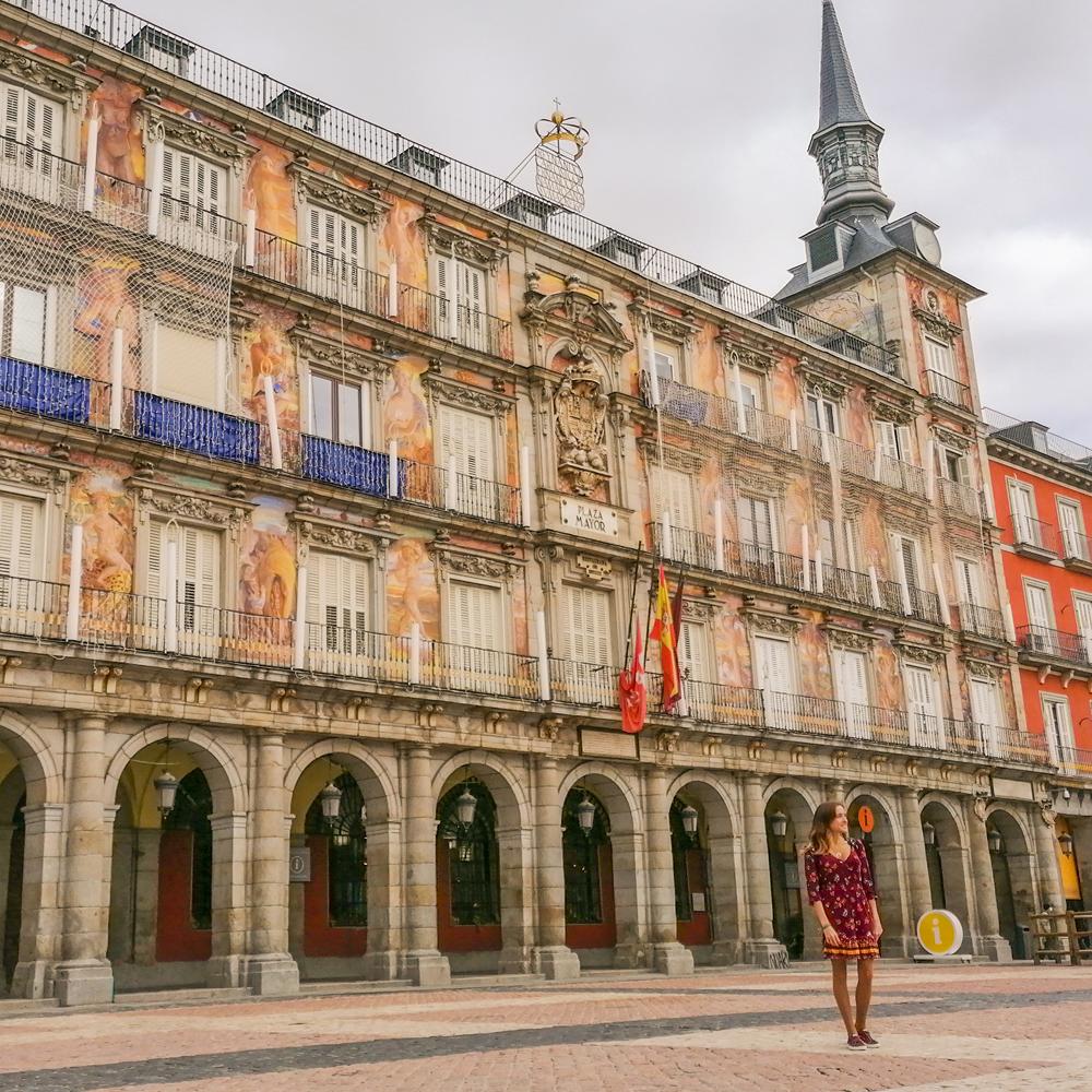 plaza mayor lugares instagrameables madrid viajera cinefila